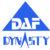 DAF logo tri blue